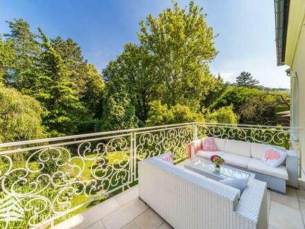 9-Zimmer Luxusvilla mit Pool, Grünlage in Grinzing