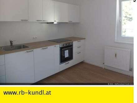KUNDL Zentrumsnah - ERSTBEZUG nach Renovierung - Großzügige 4-Zimmer-Wohnung mit Süd-Balkon zur MIETE