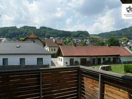 56 m² Mietwohnung mit Balkon - inmitten von Altmünster