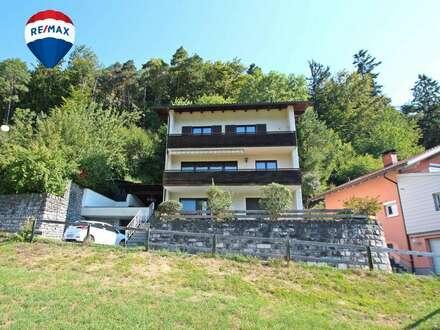 Grosses Einfamilienhaus in Bludenz mit Blick auf die Bergwelt
