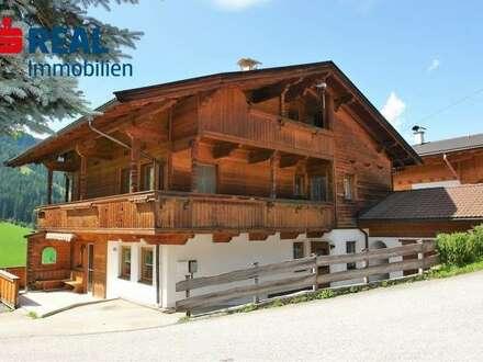 Alpbach – Wohnung auf zwei Etagen mit Garten in Panoramalage!
