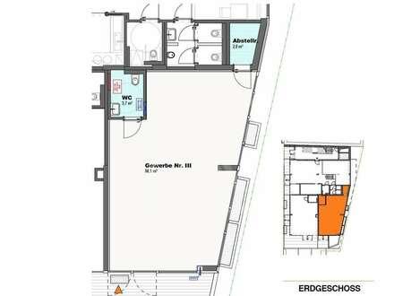 Neubau - Geschäftsfläche in zentraler Lage zu vermieten
