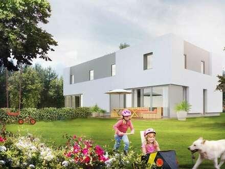 moderne Doppelhaushälfte in Niedrigenergiebauweise - SCHLÜSSELFERTIG