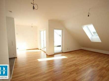**RESERVIERT** gemütliche 74m² Neubauwohnung mit kleiner Dachterrasse in Michaelnbach zu vermieten! BEZUGSBEREIT!