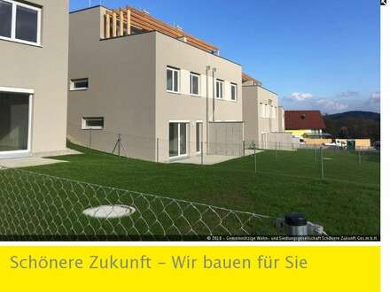 Modernes Neubau-Reihenhaus mit 2 Terrassen und Kaufoption!