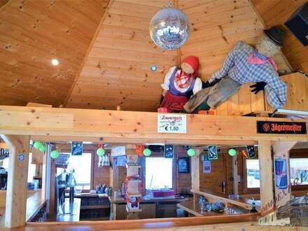 ! Skihütte mit Restaurant, Apres Ski Bar und Wohneinheit im Skigebiet Stuhleck !