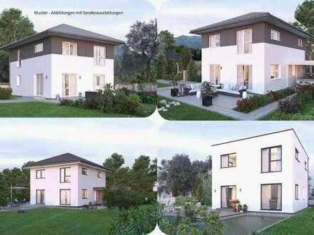 Frauendorf an der Au-Elkhaus und Grundstück (Wohnfläche - 117m² - 129m² & 143m² möglich)