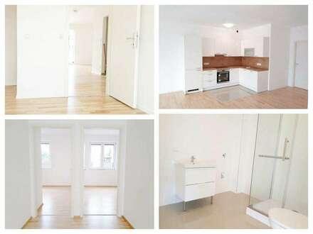 Lassee - Schöne Wohnung mit Fußbodenheizung, Balkon, Parkplatz und Hobbygarten