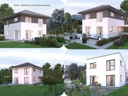 Hellmonsödt-Elkhaus und Grundstück (Wohnfläche - 117m² - 129m² & 143m² möglich)