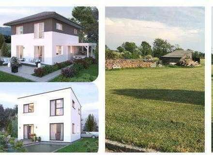 Randlage Grieskirchen -Elkhaus und Grundstück (Wohnfläche - 117m² - 129m² & 143m² möglich)-(2 Parzellen verfügbar)