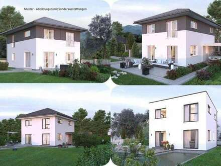 Liebenau-Elkhaus und Grundstück (Wohnfläche - 117m² - 129m² & 143m² möglich)