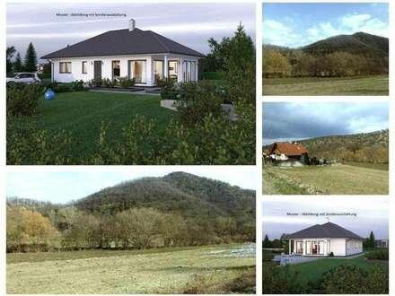 Randlage/Furth bei Göttweig - Schöner ELK-Bungalow und Grundstück (Nur noch 2 Grundstücke)