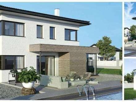 Provisionsfrei - Finkenstein - Schönes ELK-Design-Haus (Wohnfläche - 130m² & 148m² & 174m² möglich) - ELK-Belagsfertige Ausführung