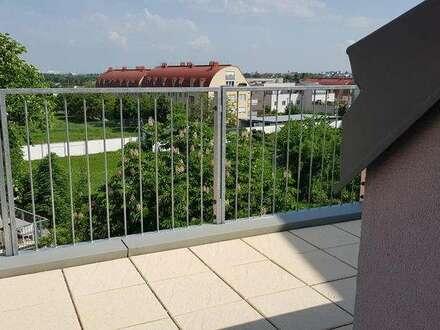 Neubau ERSTBEZUG Dachgeschoß - 62,5 m² 2 Zimmer mit ca. 7 m² Balkon