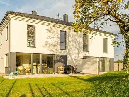 großzügige Doppelhaushälfte im ökonomischen Villenbaustil - SCHLÜSSELFERTIG