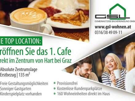 Café - Konditorei - Bäckerei in absoluter Zentrumslage