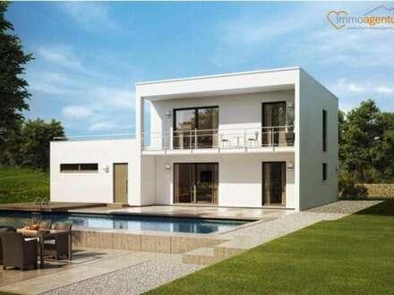 Stylisches Einfamilienhaus, Ziegelmassiv ca.135 qm inkl. Balkon + Eingangsüberdachung TOPAUSSTATTUNG