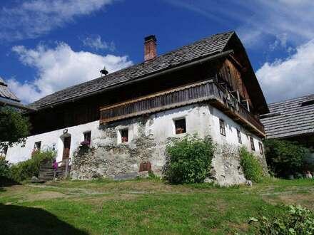 Einzigartige Rarität! Gruppenhof von 1621 - Traumlage im Lungau!