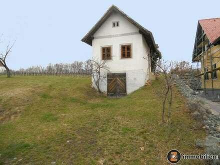Originales Kellerstöckel im südburgenländischen Weingebirge