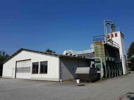 Gewerbeliegenschaft - Produktionshalle samt Grundstück
