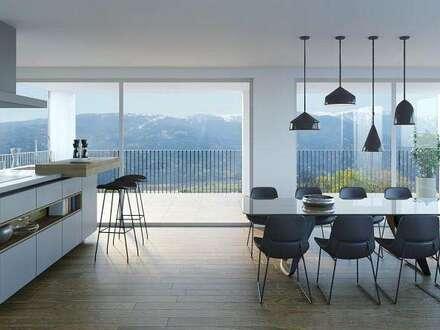 Exklusive Penthouse-Wohnung mit Bergpanoramablick