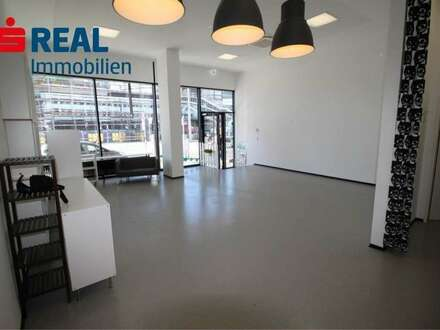 Büro / Verkaufsfläche in Top Frequenzlage / Nähe EKZ Sillpark / HBF, bodentiefe Verglasung, hervorragende lichte Höhe