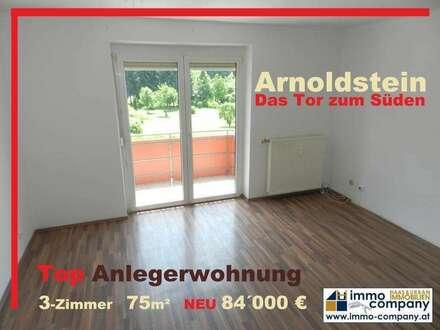 Arnoldstein: Top-Anlegerwohnung sucht neuen Eigentümer