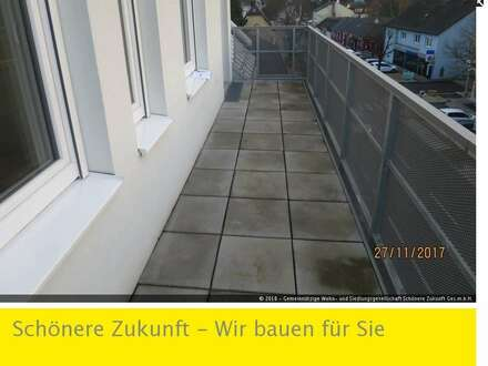 Moderne Dachgeschosswohnung mit Balkon, Garagenplatz und Kaufoption!