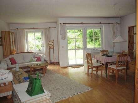 113,49 m² Eigentumswohnung mit Garten, Garage und großem Keller