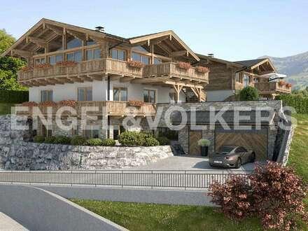 W-02AKS9 Projekt: 2 Chalets auf dem Sonnenplateau von Jochberg