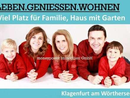 VIEL PLATZ FÜR FAMILIE, HAUS MIT GARTEN - KLAGENFURT AM WÖRTHERSEE