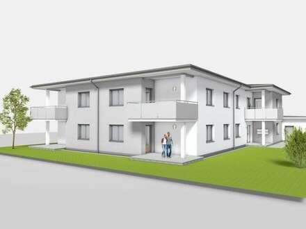 Erstbezug einer 3-Zimmer Eigentumswohnung mit eigenem Gartenanteil
