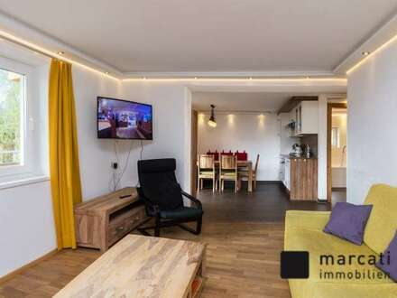 Voll möblierte Wohnung in Aussichtslage - 1. Obergeschoss