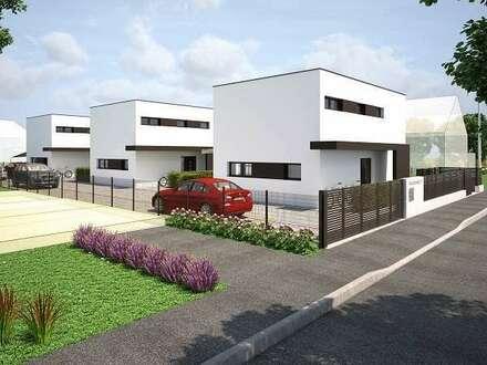 Exzellente, ruhige Lage im Grünen und doch bei Wien! Drei Einfamilienhäuser mit Garten auf einem Grundstück.