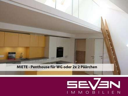 Museumstrasse 14: Penthouse für 2 Paare und gemeinsamen Wohnbereich oder WG