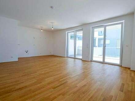 ANLAGE-Neubau Balkon-Wohnung | 62m² WFL+21m² Balkon | Top 10
