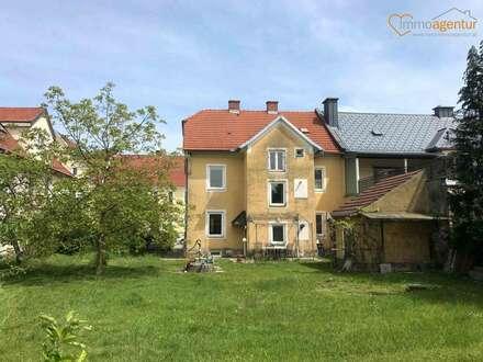 Reserviert! Sanierungsbedürftiges Mehrfamilienhaus mit sonnigem Grundstück in zentraler Welser Lage!