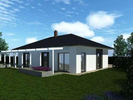 Bungalow belagsfertig mit Grundstück, Fundamentplatte und Zusatzleistungen
