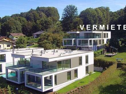 Wörthersee: ***VERMIETET*** Erstbezug-Penthouse zur MIETE ab Sommer 2019 mit gigantischem See- und Bergblick, Außenpool und…