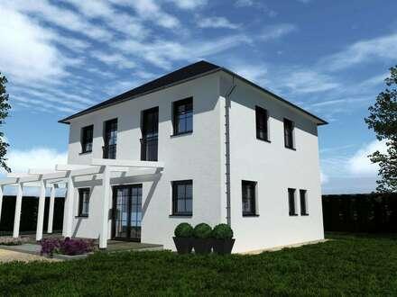 Haus belagsfertig mit Grundstück, Fundamentplatte und Zusatzleistungen