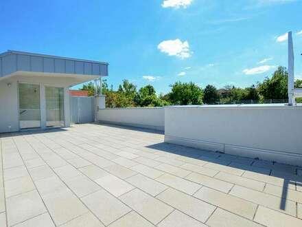 Neubau Dachgeschoßwohnung | 120m² WFL+56m² Dachterrasse & Balkon | Top 15