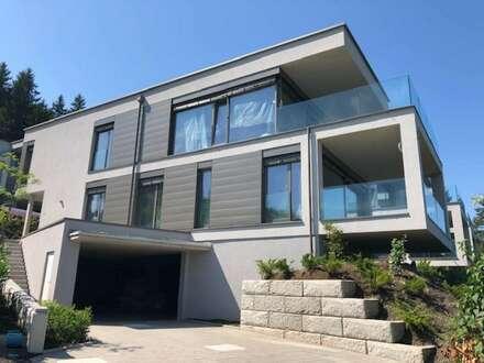 AUEN VILLEN am Wörthersee: Traumhafte Seeblick-Wohnung - 77 m² Wfl. + 19,90 m² Terrasse mit eigenem Seegrund und Pool sowie…