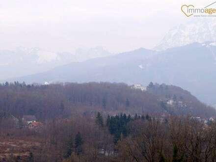 Großzügige vollunterkellerte Immobilie + Doppelgarage in Gmunden mit großem Garten und Panoramablick auf den Traunstein