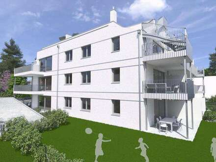 Neubau Balkonwohnung | 60m² WFL + 20m² Balkon | Top 5 Obergeschoss