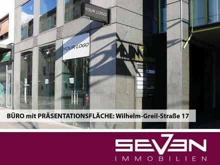 BÜRO mit PRÄSENTATIONSFLÄCHE: Wilhelm-Greil-Straße 17