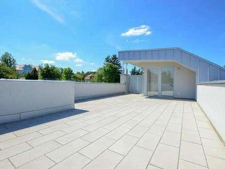 Neubau Dachgeschoßwohnung | 121m² WFL+56m² Dachterrasse & Balkon | Top 14