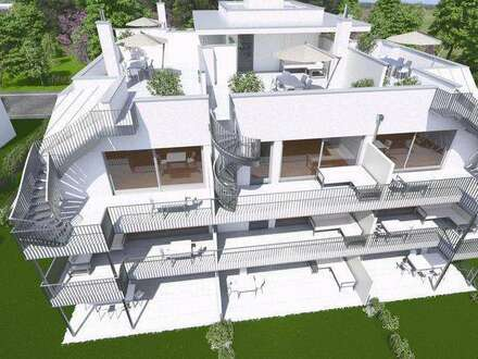 Neubau Dachterrassenwohnung | 60m² WFL + 66m² Freifläche | Top 9 Dachgeschoss