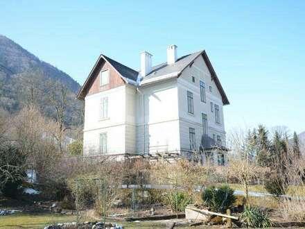 sanierungsbedürftige Jugendstilvilla in Hollenstein a.d. Ybbs