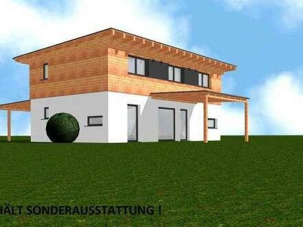 Baumeisterhaus mit Pultdach 124 m² - inkl. Grundstück in Kleinbuch !!!
