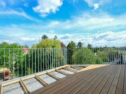 Neubau Stadtvillenwohnung | 87m² WFL + 15m² Balkon | Top 5 Dachgeschoss
